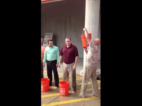Home Depot District 33 ALS Ice Bucket Challenge