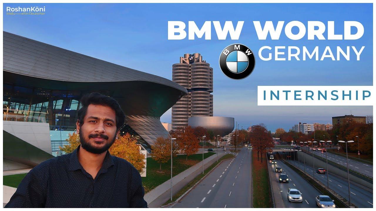 Bmw World Germany L Internship Experience L Skills Needed For Internship L Showroom Visit L Youtube