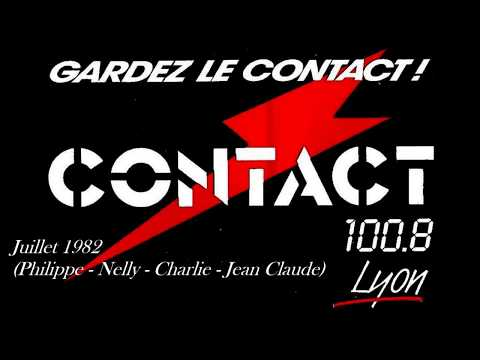 Radio Contact Lyon (1 an)  13 juillet 1982