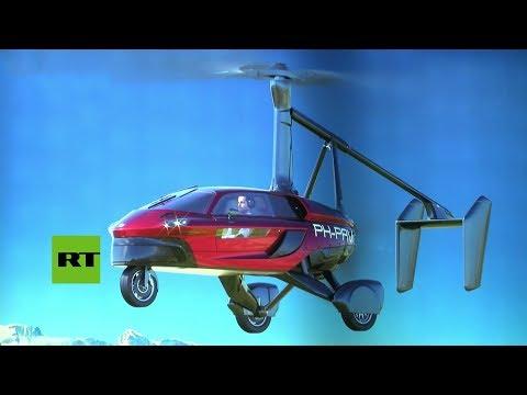 Presentan un auto volador en el Salón de Ginebra