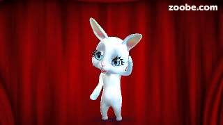 Зайка Zoobe. Бежал заяц...