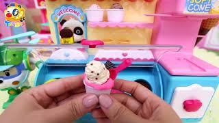 冰淇淋彩泥 | 一起玩玩具 | 兒童玩具 | 玩具巴士