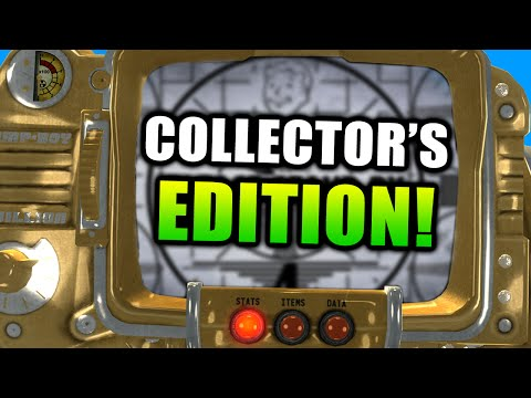 FALLOUT 4 - COLLECTOR'S EDITION, PIP BOY 3000, EXCLUSIVE ITEMS, & MUCH MORE! (Fallout 4)