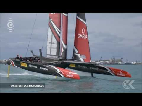 Grant Dalton on Team NZ collision ahead of America's Cup: RNZ Checkpoint