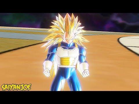 Vegeta Transformations (SSJ1-SSJ2-SSJ3-SSJ4-SSG-SSB-SSBE-UI-Mastered UI)   Dragon Ball Xenoverse 2