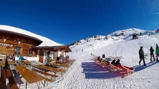 Zillertal 2017 Alpy 360 stopni, zima, ferie wypoczynek, opalanie
