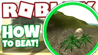 How to complete the EGG QUEST | Roblox Jurassic Tycoon