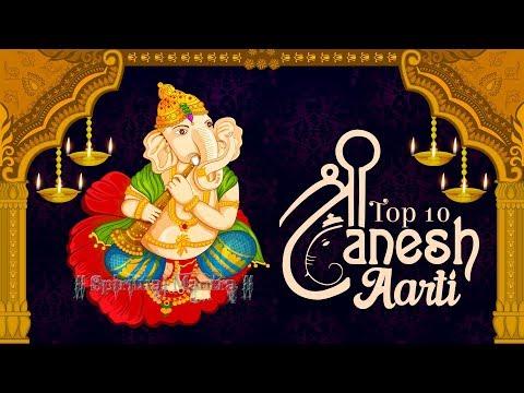 Top 10 Shri Ganesh Aarti | Ganpati Ki Seva | Shendur Lal | Jai Ganesh Deva | Best Collection Bhajans