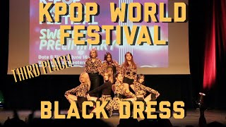 [EVL] - CLC (씨엘씨) _ BLACK DRESS @ KPOP WORLD FESTIVAL SWEDEN PRELIMINARIES 2018