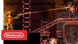 Steamworld Heist for the Nintendo 3DS Launch Trailer