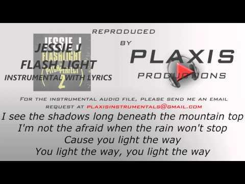 Jessie J - Flashlight (INSTRUMENTAL with LYRICS)