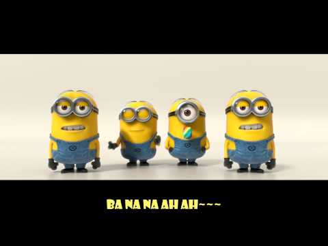 [Lyrics] Despicable Me 2 _ Minions - banana potato