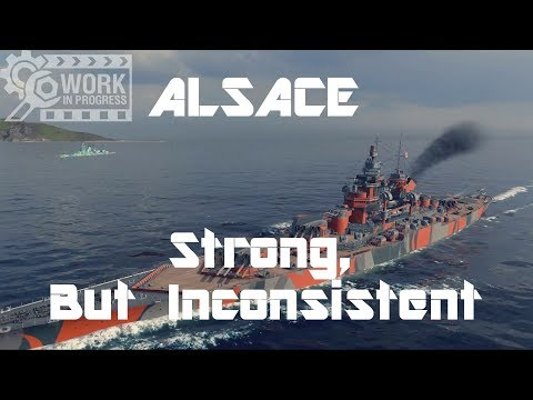 T9 FR BB Alsace [WiP] - Strong, But Inconsistent