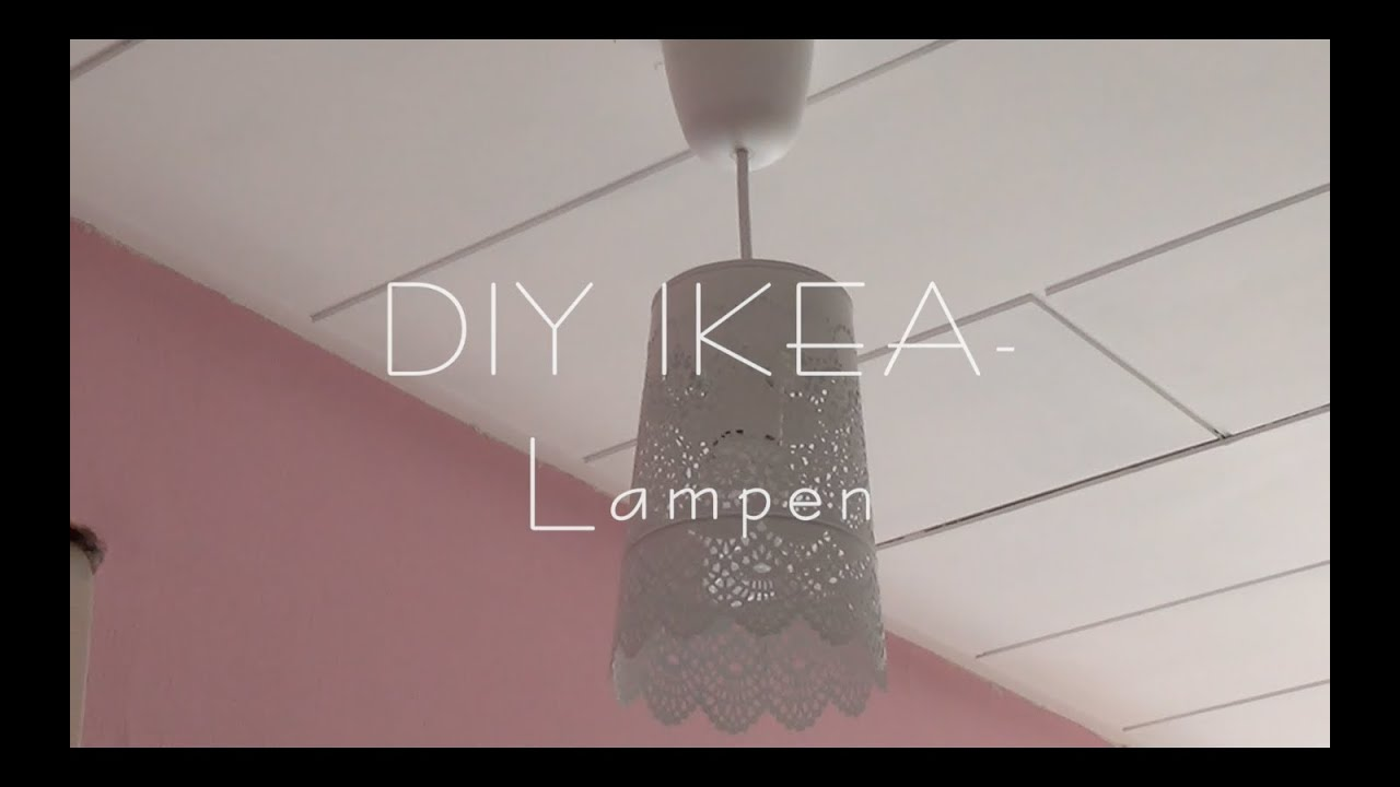 diy ikea lampen youtube. Black Bedroom Furniture Sets. Home Design Ideas