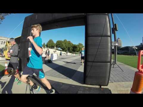 2016 Spirit Sprint finish line