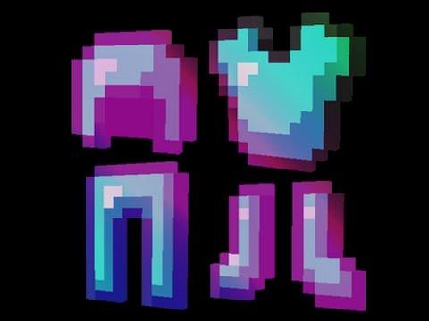 как сделать сет любой брони в майнкрафте зачарованый на 9999лвл #7