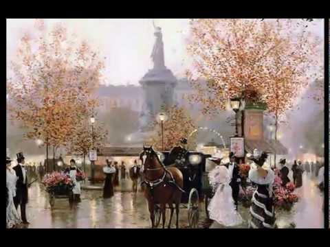 Париж, которого уж нет...Картины Кристы Киффер.mp4