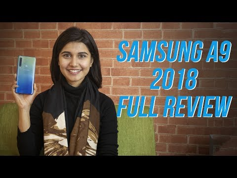 Samsung Galaxy A9 2018 Review: A new level of gimmick?