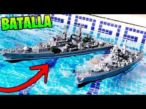 De ControlMakiman Vs Piscina Barcos En Batalla Rc La Radio wvm8n0ON