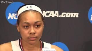Career high game for Allisha Gray