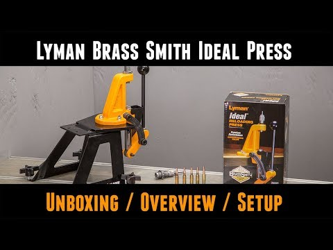 Lyman Brass Smith Ideal Reloading Press: Unboxing, Setup, Overview