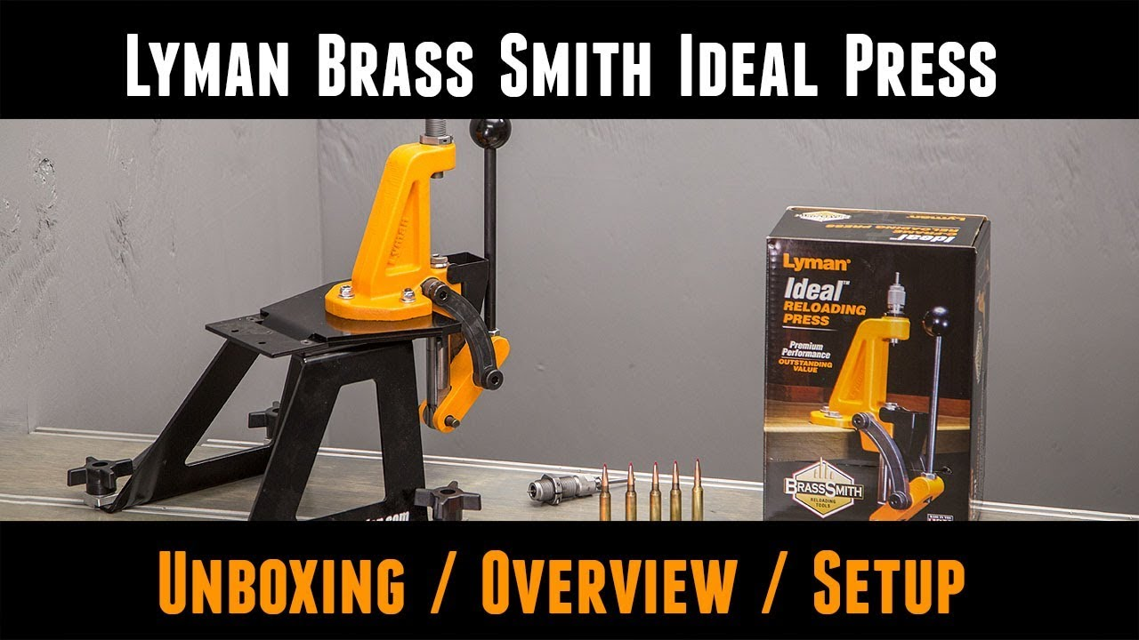 Single-Stage Reloading Presses — Product Video Showcase « Daily Bulletin