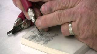 Preparing And Carving A Lino Block - Printmaking With Keith Moreau