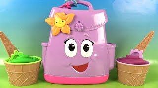 Dora l'Exploratrice Sac à Dos Fidget Hand Spinners Play Doh Surprises