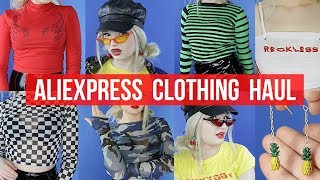 ????????TRENDY CLOTHING FOR UNDER $10? ???? ALIEXPRESS HAUL  ???? L.LAVENDER