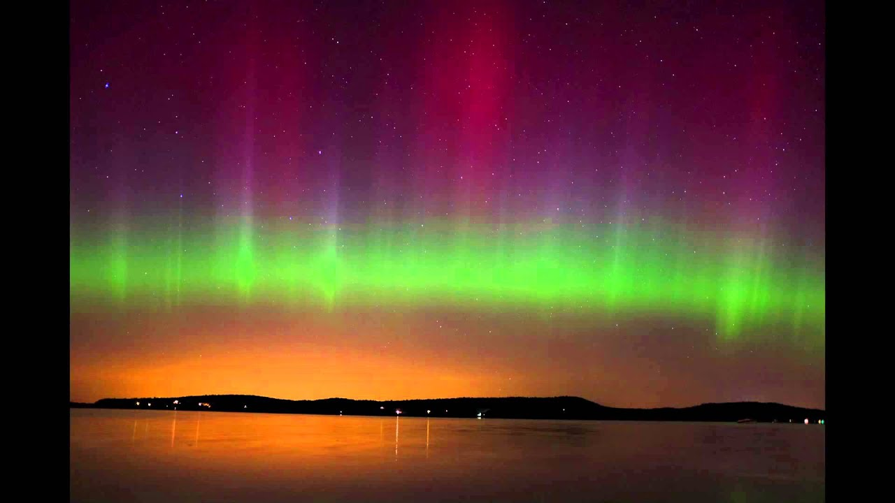 Vermont Fall Wallpaper Northern Lights Aurora Borealis In Malletts Bay Vermont