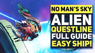 No Man's Sky - Complete Guide To New STARBIRTH Questline  & How To Get NEW Alien SHIP FAST AND EASY!