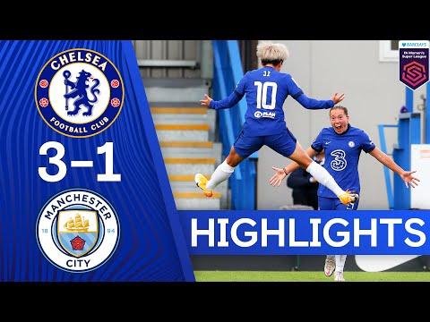 Chelsea 3-1 Man City | Mjelde, Kerr & Kirby On Target In Big Win | Women's Super League Highlights