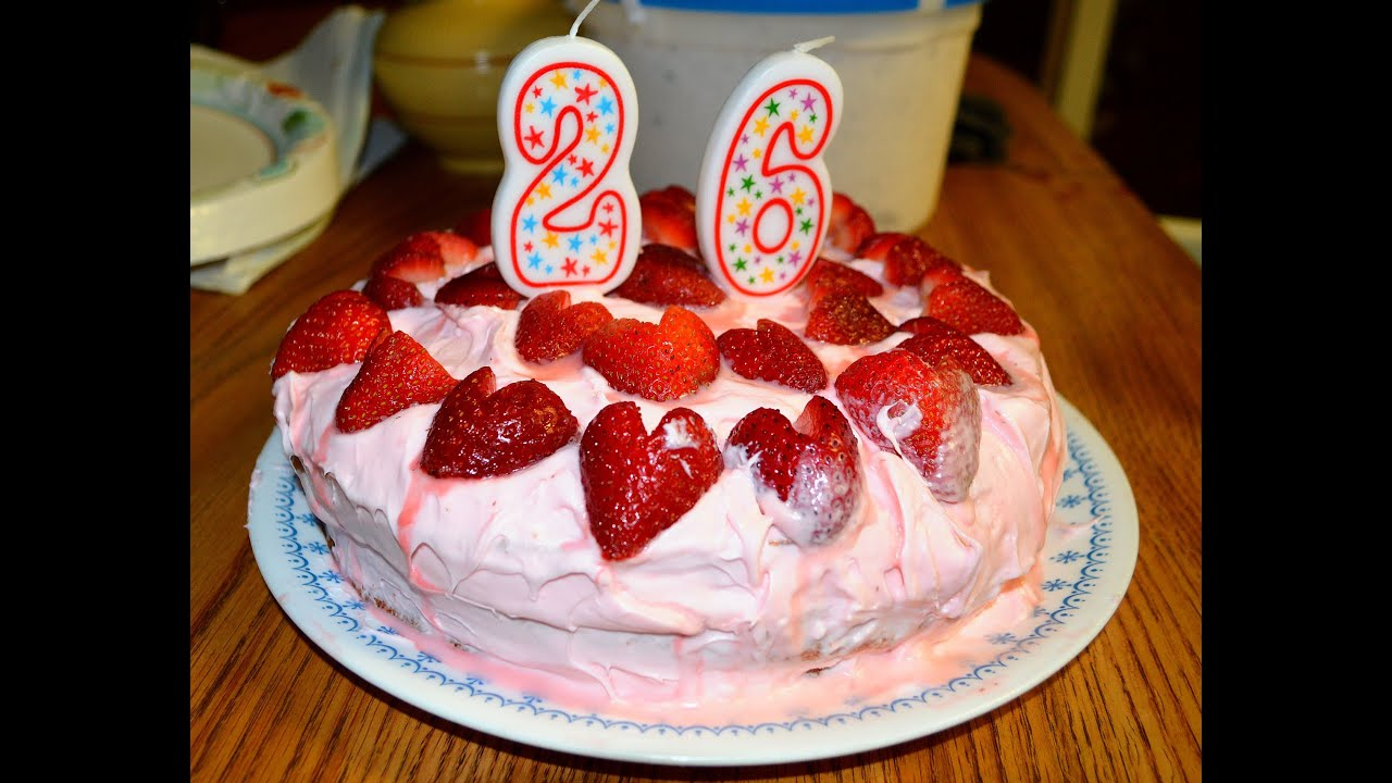 Recipe for an ALMOST Homemade Strawberry Cake with Cream Cheese