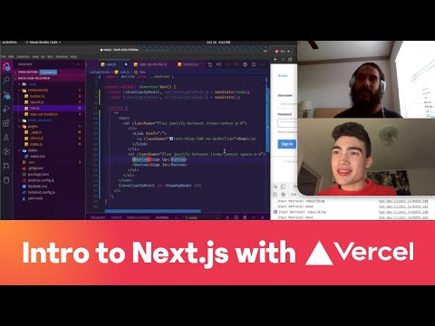 Livecode: Intro To Next.js With @coetry