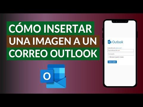 Cómo Insertar una Imagen como Parte del Cuerpo de un Correo de Outlook