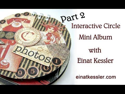 Interactive Circle Mini Album - part 2