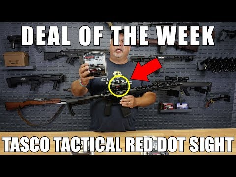 Deal Of The Week - Tasco Tactical Red Dot Sight