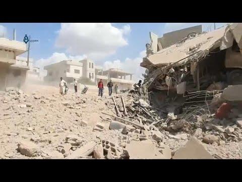 Mais de 30 mil em fuga em Idlib