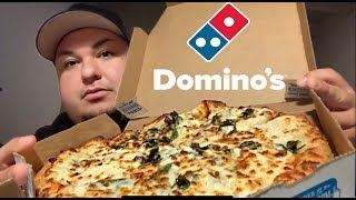 Domino's White Pizza