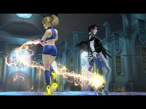 ZSS And Bayonetta Rage Shenanigans - Super Smash Bros. for Wii U