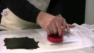 Printing A Lino Block - Printmaking With Keith Moreau