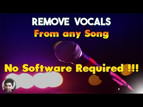 how-to-remove-vocals-from-a-song-with-a-website-|-make-karaoke-with-no-software-tutorials-|-vocal