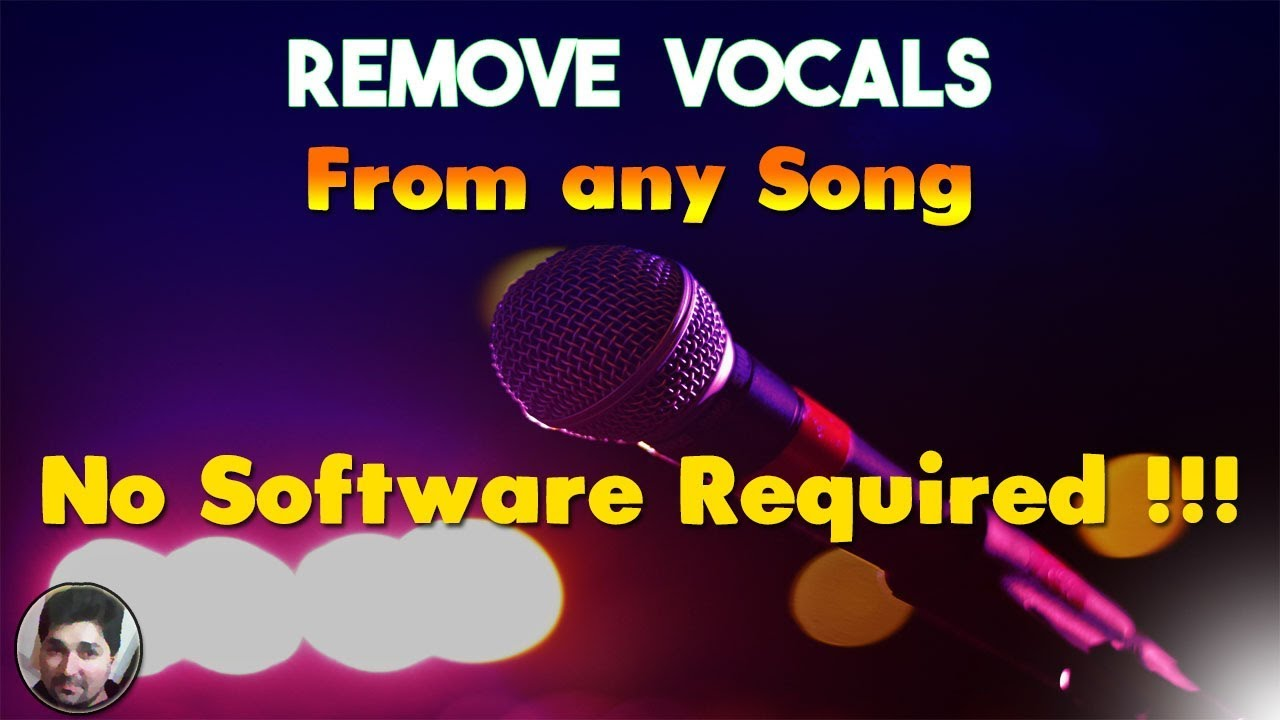 How to Remove Vocals from a Song with a Website | Make Karaoke with no software Tutorials | Vocal