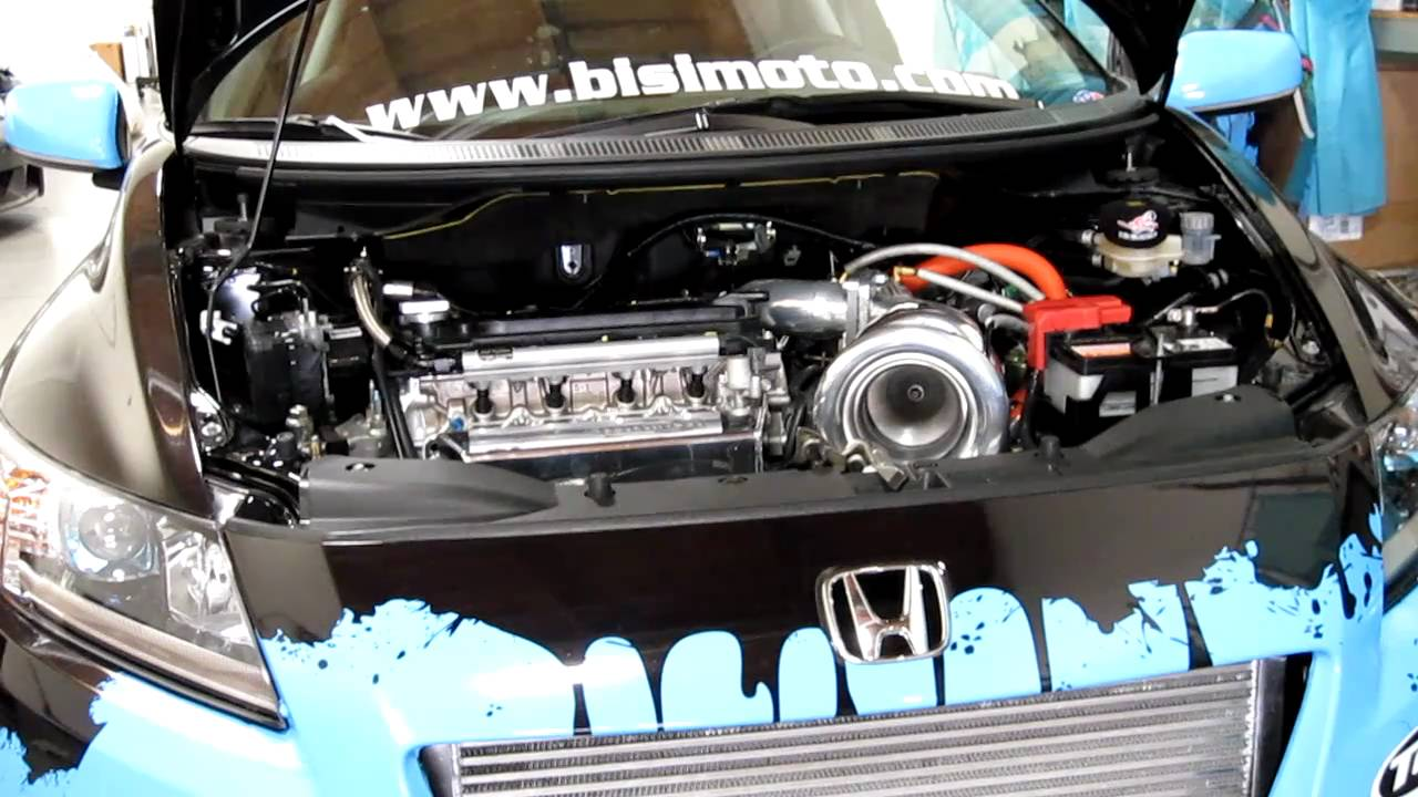 bisimoto 533hp honda crz sport hybrid 2steplaunch
