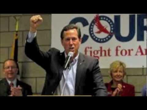 Santorum Advertisement AMERICA