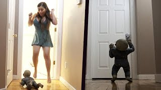 DEMON BABY PRANK - WHEN SHE TELLS YOU SHE WANTS TO HAVE A BABY - PRANK AND LIFE HACKS