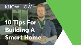 Loxone Video Blog: Self Build - 10 Top Tips For Building a Smart Home