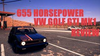 VOLKSWAGEN GOLF GTI MK1 655 HP REVIEW