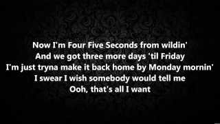 Four Five Seconds - Rihanna and Kanye West, with Paul McCartney (The Johnsons Cover) Lyrics HD NEW