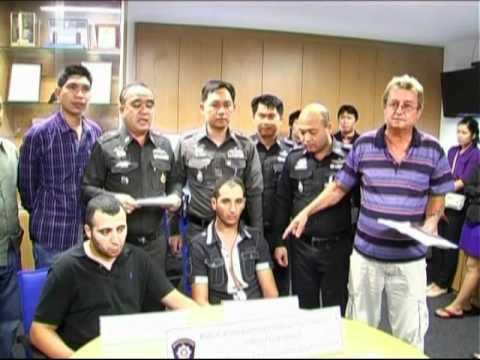 Arrestation Thailande Carte Bancaire.Atm Fraudsters Return For More Transactions Youtube